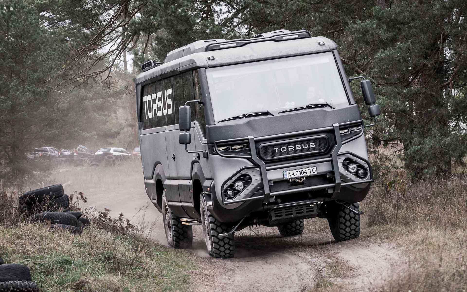 TORSUS Praetorian & Tatra Dakar test