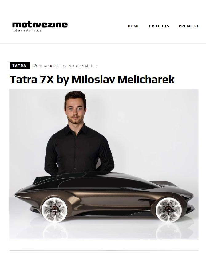 Tatra 7X by Miloslav Melicharek. Making of